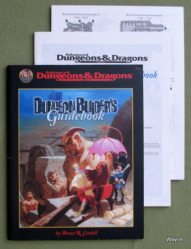 Image for Dungeon Builder's Guidebook (Advanced Dungeons & Dragons)