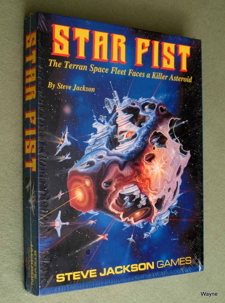 Image for Star Fist Boxed Game (The Terran Space Fleet Faces a Killer Asteroid)