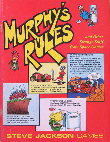 Image for Murphy's Rules...and Other Strange Stuff From Space Gamer