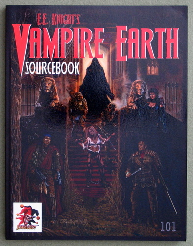 Image for Vampire Earth RPG Sourcebook (Savage Worlds)
