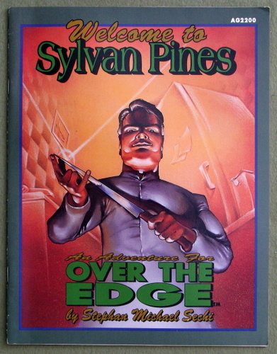 Image for Welcome to Sylvan Pines: An Excursion over the Edge (Over the Edge)