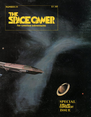 Image for The Space Gamer Magazine, Issue 25