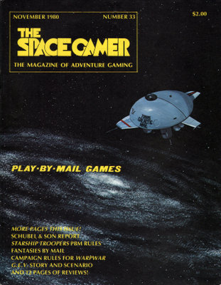 Image for The Space Gamer Magazine, Issue 33