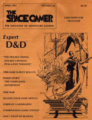 Image for The Space Gamer Magazine, Issue 38