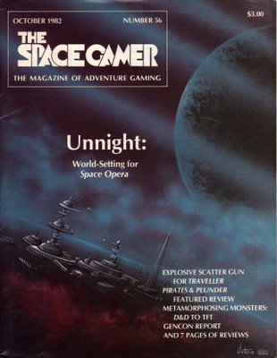 Image for The Space Gamer Magazine, Issue 56