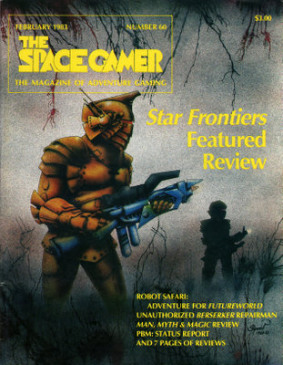 Image for The Space Gamer Magazine, Issue 60