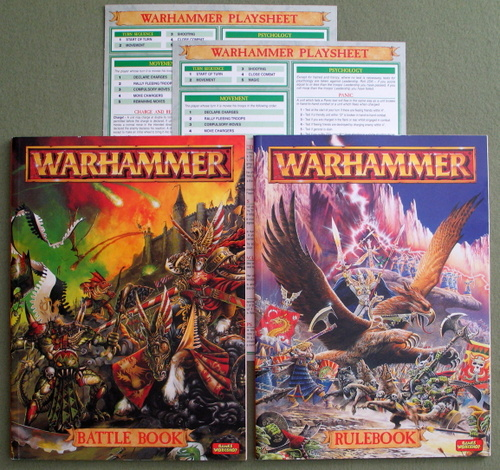 Image for Warhammer: Rulebook & Battle Book