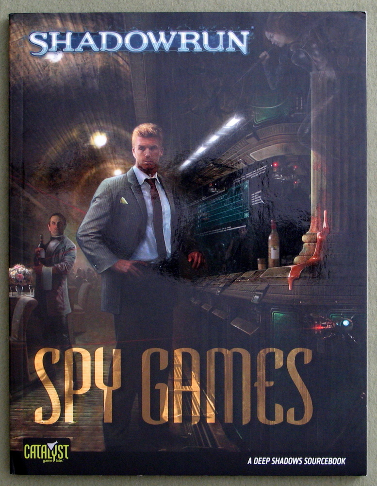 Image for Spy Games: A Deep Shadows Sourcebook (Shadowrun)