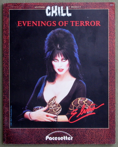 Image for Evenings of Terror (Chill RPG)