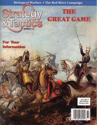 Image for Strategy & Tactics Magazine #216, with Asia Crossroads, the Great Game, Board Game