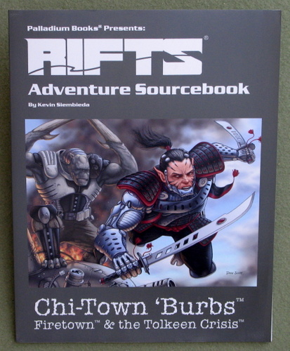 Image for Rifts Adventure Sourcebook 2: Chi-Town 'Burbs: Firetown & the Tolkeen Crisis