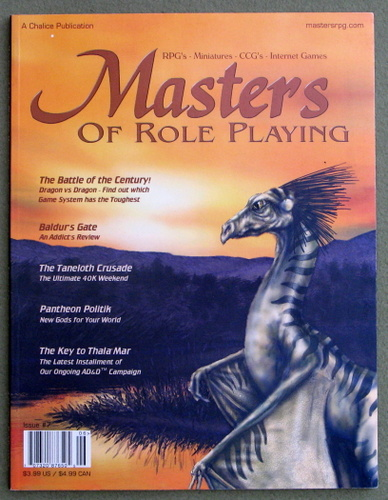 Image for Masters of Role Playing Magazine, Issue 7
