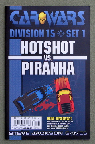 Image for Car Wars Division 15 Set 1: Hotshot vs. Piranha