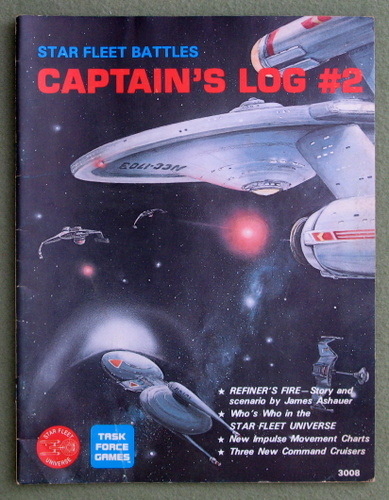 Image for Captain's Log #2 (Star Fleet Battles)