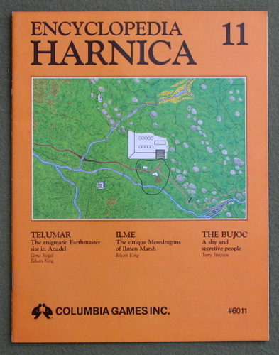 Image for Encyclopedia Harnica 11 (Harn Fantasy RPG Setting)