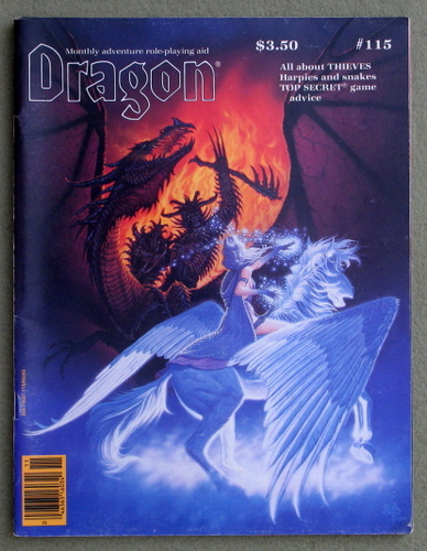 Image for Dragon Magazine, Issue 115