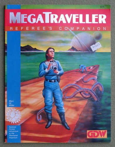 Image for Referee's Companion (MegaTraveller)
