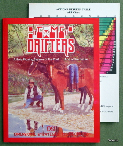 Image for Time Drifters (A Role Playing System of the Past... And of the Future)