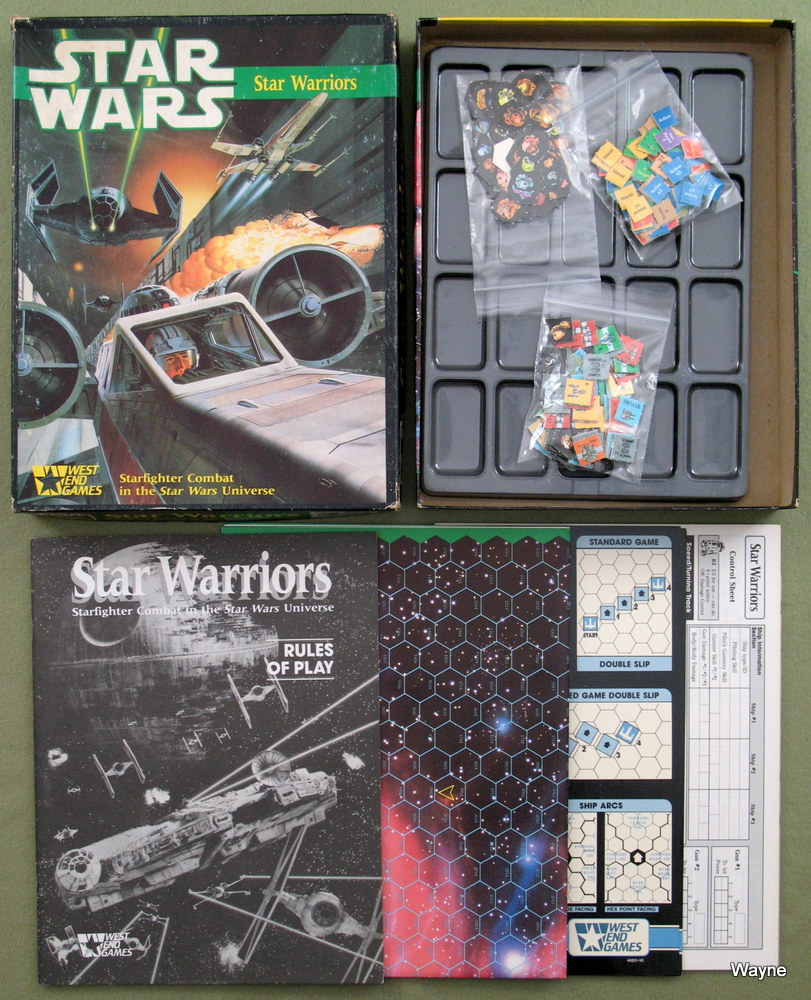 Image for Star Warriors: Starfighter Combat in the Star Wars Universe