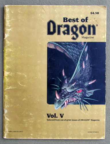 Image for Best of Dragon Magazine, Vol. V - PLAY COPY