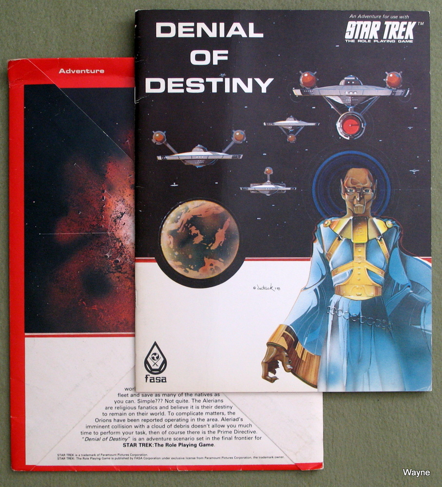 Image for Denial of Destiny (Star Trek: The Role Playing Game)
