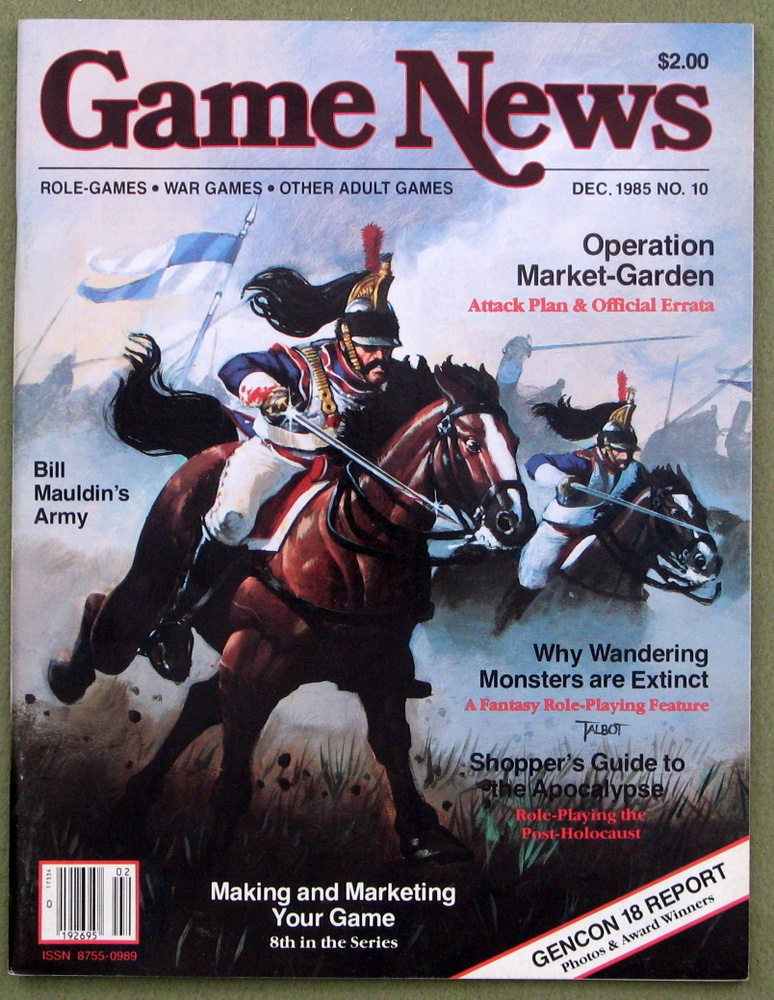 Image for Game News Magazine, Issue 10 (December 1985)