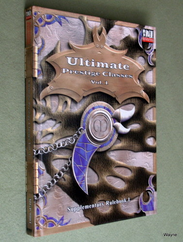 Image for Ultimate Prestige Classes, Volume 1 (d20 System)