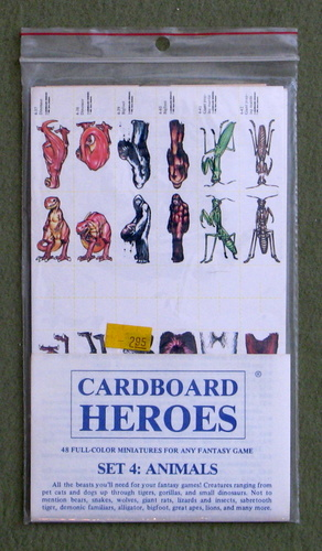 Image for Cardboard Heroes, Set 4: Animals