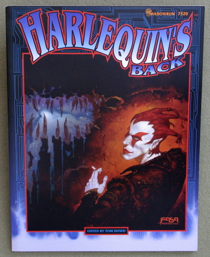 Image for Harlequin's Back (Shadowrun)
