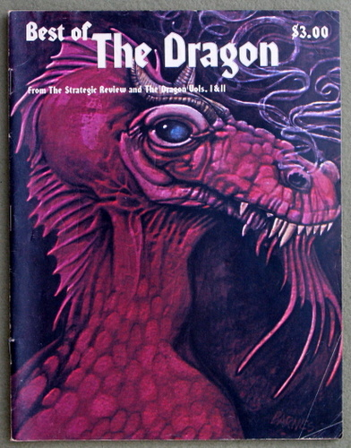 Image for Best of Dragon Magazine/from the Strategic Review and the Dragon (Best of the Dragon)