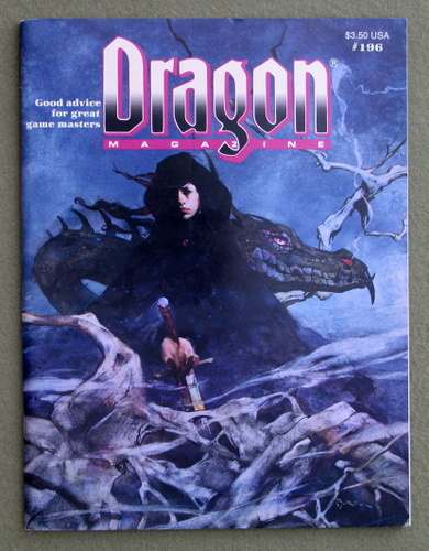 Image for Dragon Magazine, Issue 196