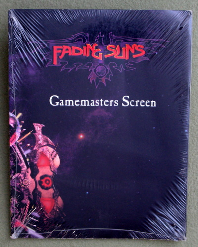 Image for Fading Suns Gamemasters Screen and Weapons Compendium