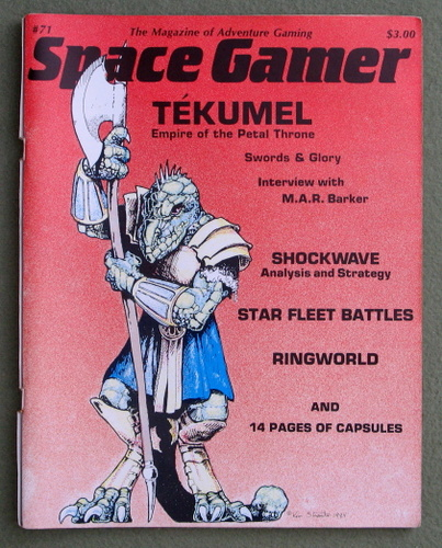 Image for The Space Gamer Magazine, Issue 71