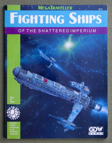 Image for Fighting Ships of the Shattered Imperium (Megatraveller)