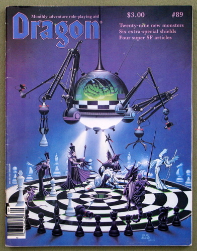 Image for Dragon Magazine, Issue 89