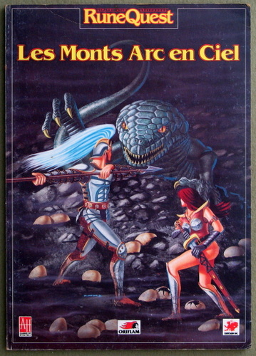 Image for Les Monts Arc en Ciel (Runequest: FRENCH-language)