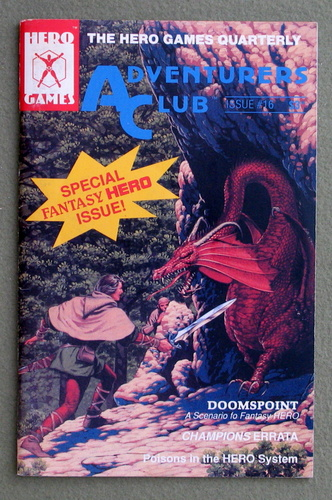 Image for Adventurers Club: The Hero Games Quarterly #16 (Summer 1990)