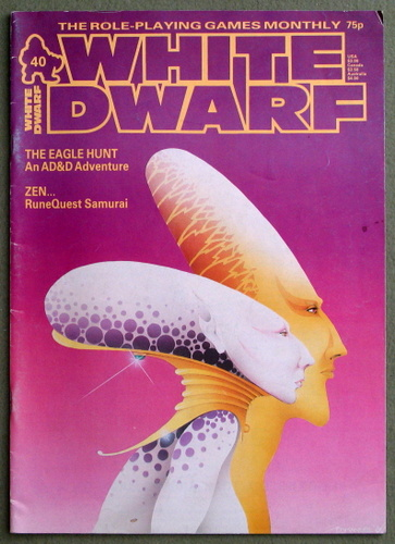 Image for White Dwarf Magazine, Issue 40