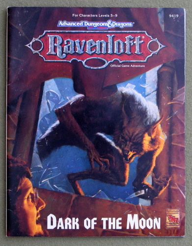 Image for Dark of the Moon (Advanced Dungeons & Dragons: Ravenloft Adventure)