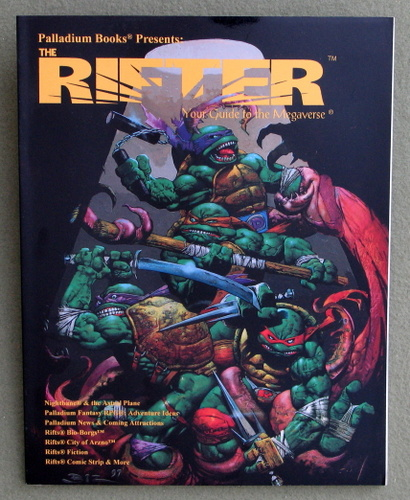 Image for Rifter #9: Your Guide to the Megaverse (Rifts)