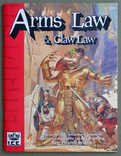 Image for Arms Law & Claw Law (Rolemaster 2nd Edition, Revised)