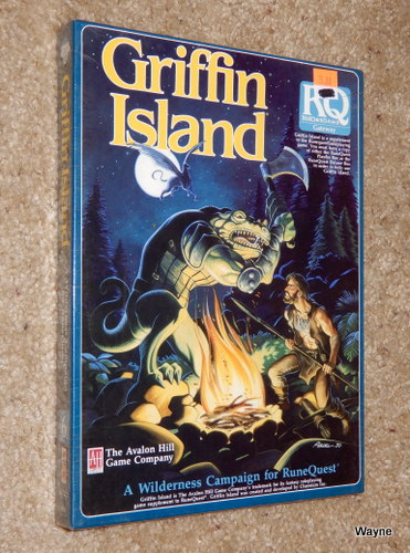 Image for Griffin Island: A Wilderness Campaign for Runequest