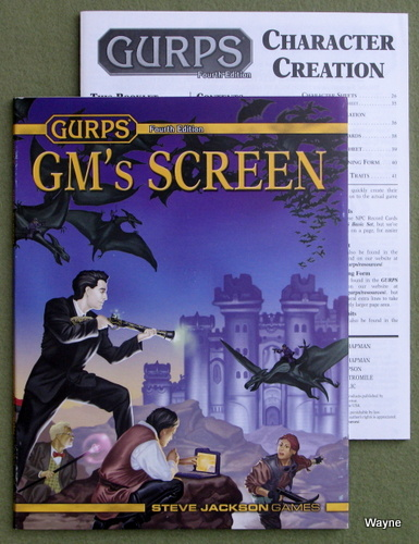 Image for GURPS 4th Edition GM's Screen