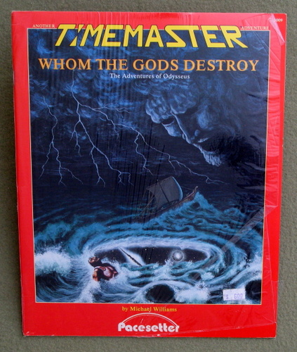 Image for Whom the Gods Destroy: The Adventures of Odysseus (A Timemaster Adventure)
