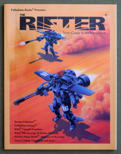 Image for Rifter #21: Your Guide to the Megaverse (Rifts)