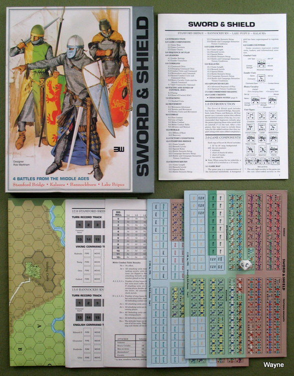 Image for Sword & Shield: 4 Battles from the Middle Ages