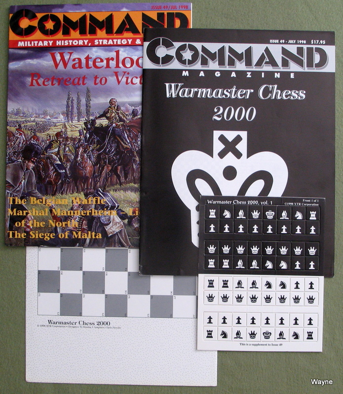 Image for Command Magazine #49, with Warmaster Chess