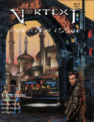 Image for Vortext Magazine, Issue 1 (Spring 1991)