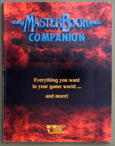 Image for MasterBook Companion (D6/Masterbook)