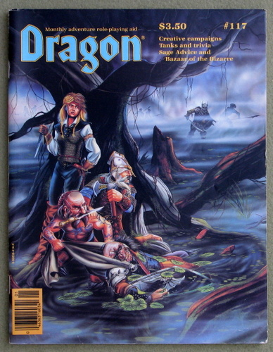 Image for Dragon Magazine, Issue 117